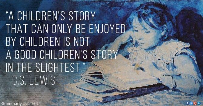 C.S. Lewis children's story quote