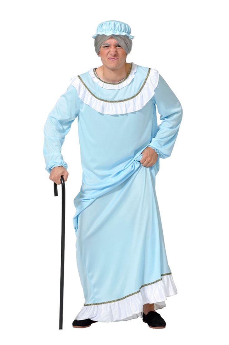 Disfraz de abuelita unisex