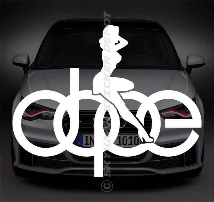 Best Audi Benz BMW Volkswagen Stickers  Decals Images On - Bmw vinyl stickers