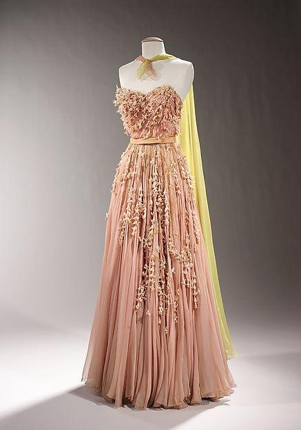 Evening dress Sophie Gimbel 1955