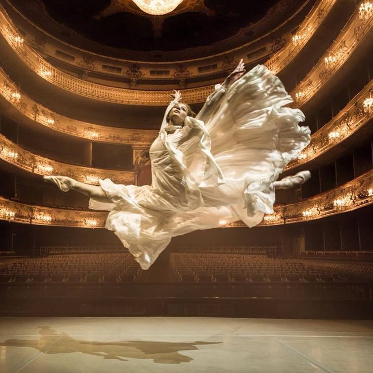 Danseuse du Marinski - Saint Petersbourg.
