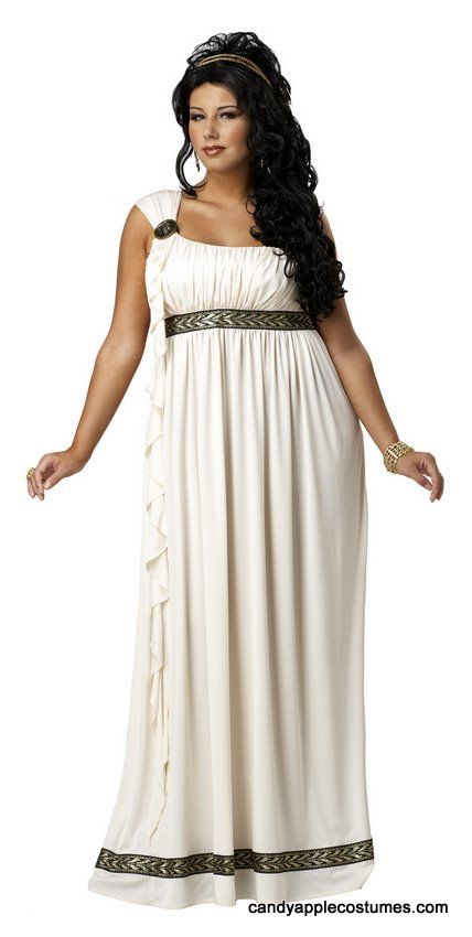 Plus Size Olympian Goddess Costume - Candy Apple Costumes - Greek & Roman Costumes