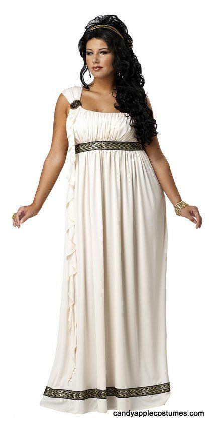 Plus Size Olympian Goddess Costume - Candy Apple Costumes - Greek & Roman Costumes