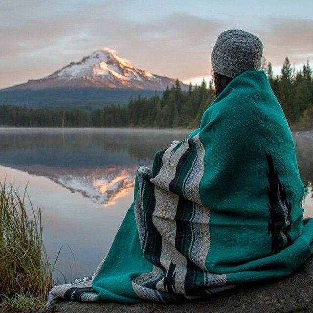 With every blanket you buy from Sackcloth and Ashes, one is donated to a local homeless shelter.