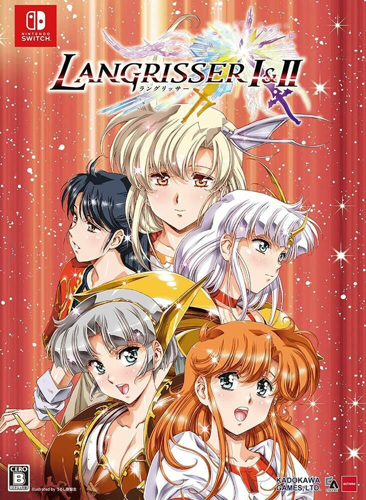Nintendo switch langrisser i ii 1 2 limited edition