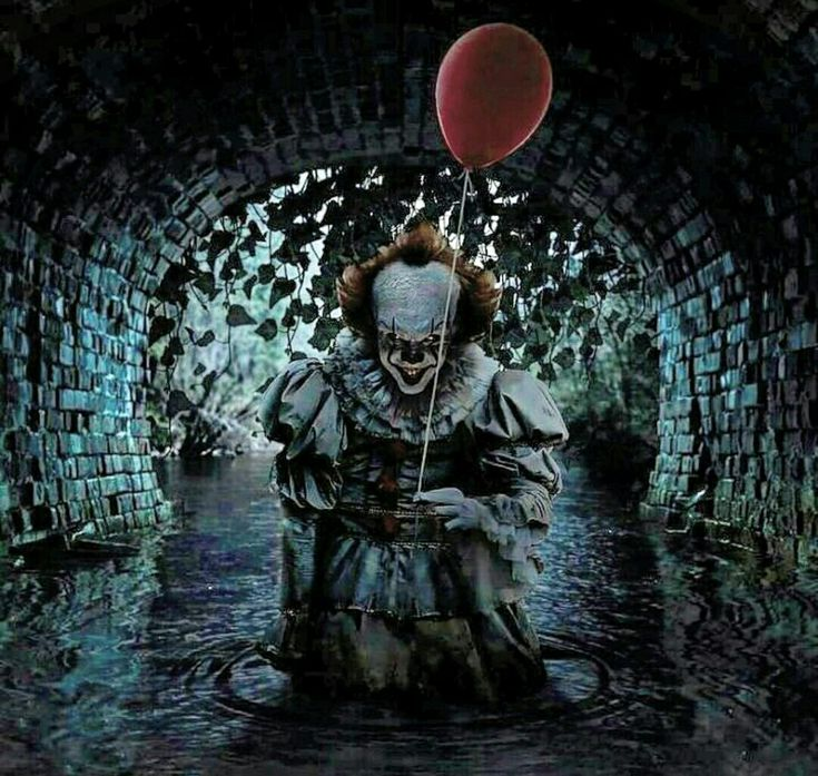 I picked this because i can't stand clowns, even the way they look.