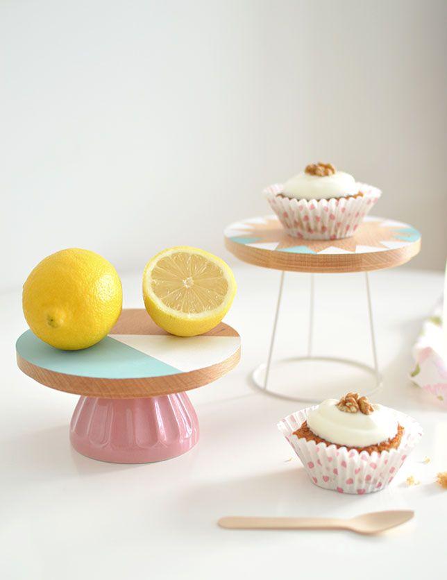 DIY présentoir gâteau
