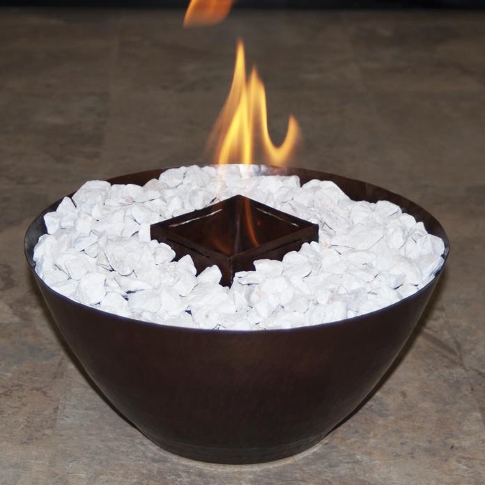 Chimenea redonda contamos con chimeneas ecol gicas de - Chimenea de mesa ...
