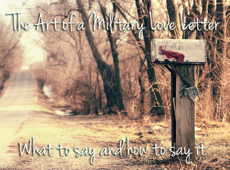 The Art of the Military Love Letter