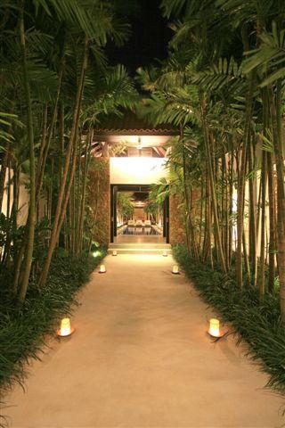Balinese walkway
