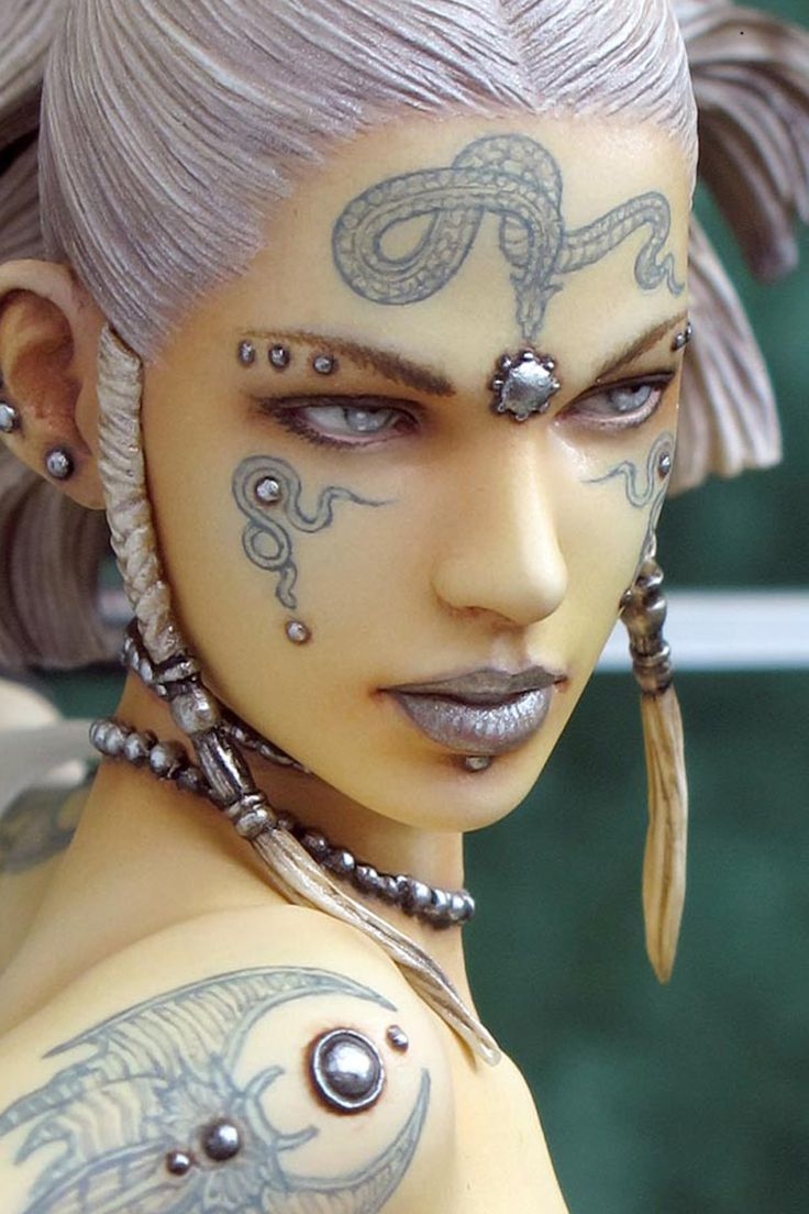 Female Warrior Makeup Ideas