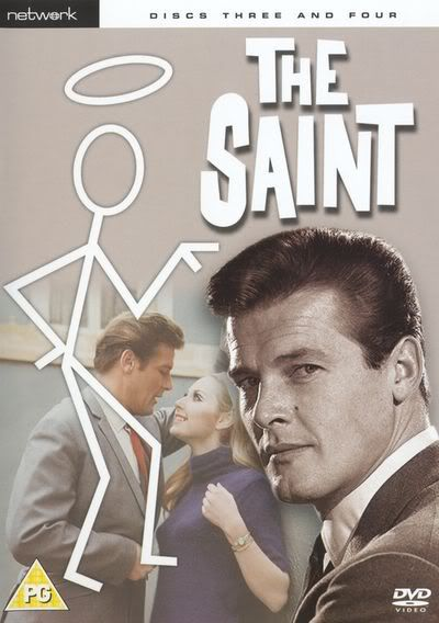 """The Saint"" TV series (1962-1969) starring Roger Moore. I've caught this series a few times late late at night, and love it!"