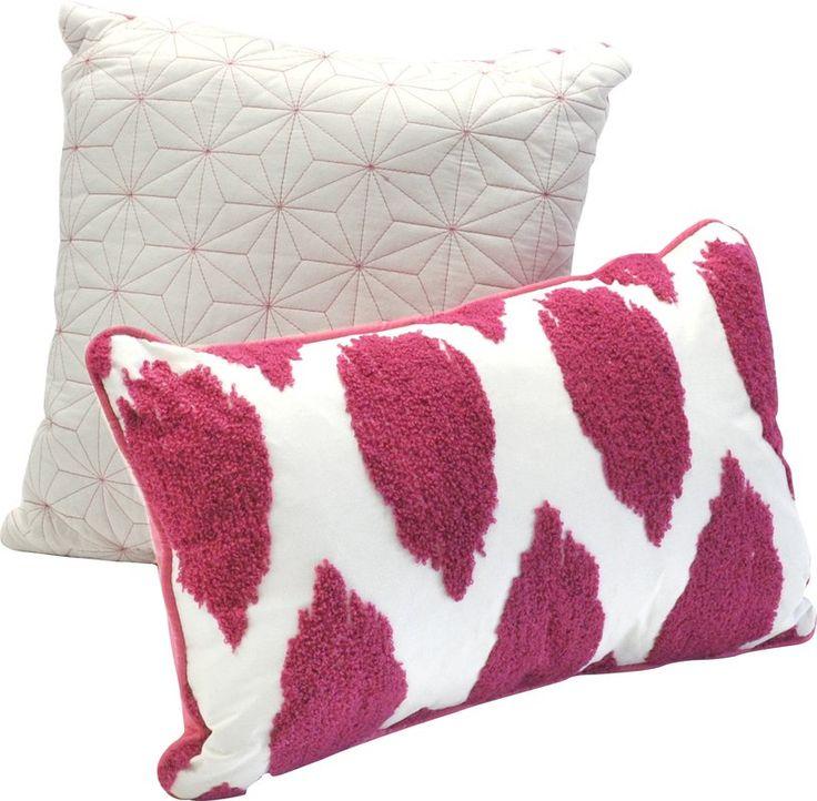 Seventeen Deliah Ikat 2 Piece Cotton Decorative Pillow Set & Reviews   Wayfair