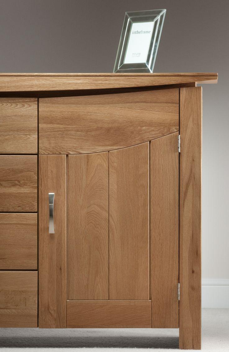 Tokyo Natural Solid Oak Large Sideboard  Wooden FurnitureOak. 45 best Tokyo Solid Oak Range   Oak Furniture Land images on