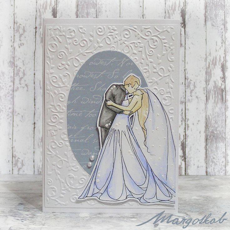 svatební přání - přáníčko ženich a nevěsta