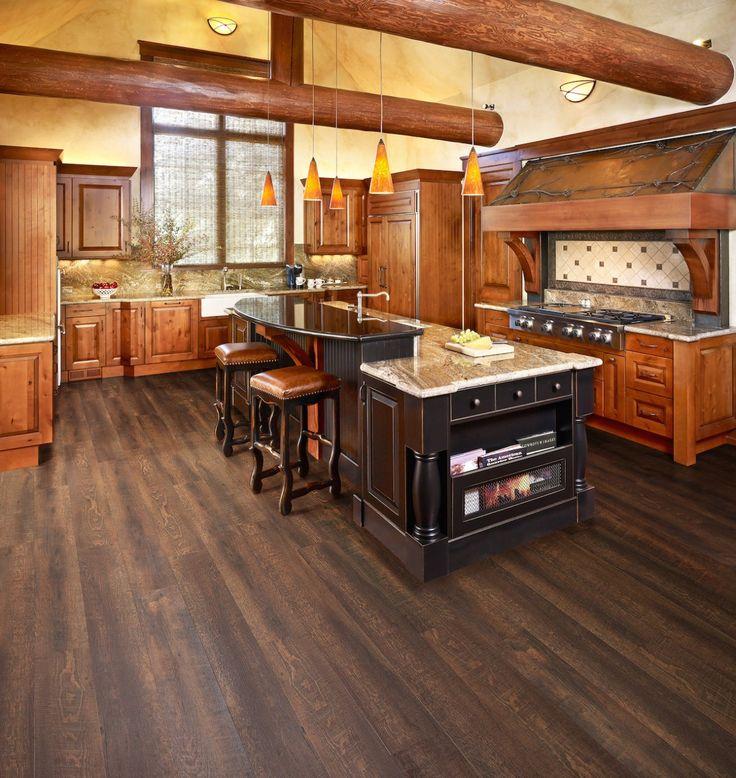 Novocore lvt saddle brown Kitchen remodel, Modern