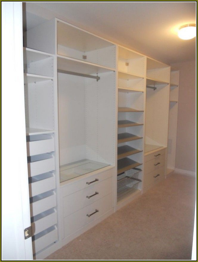 the 25 best ikea closet hack ideas on pinterest ikea built in bookcase with drawers and. Black Bedroom Furniture Sets. Home Design Ideas