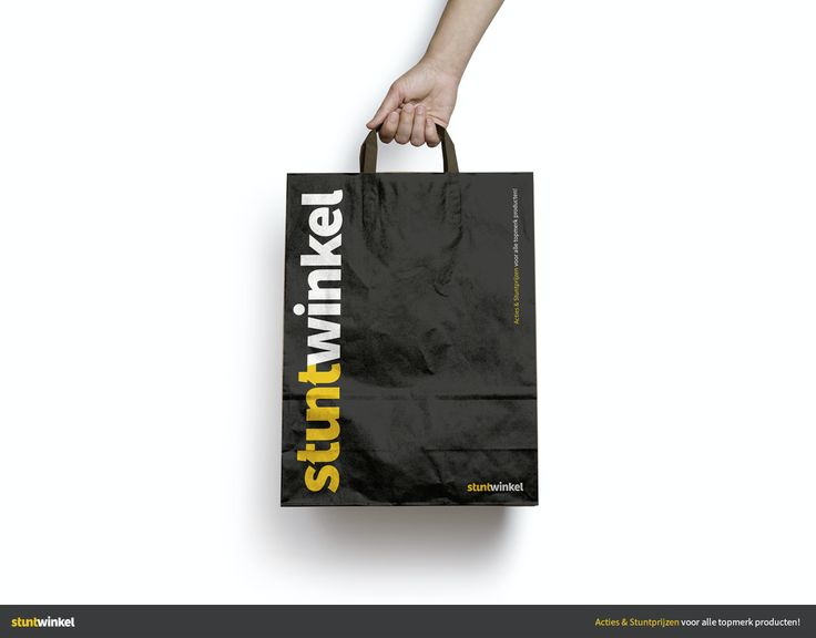 Shoppen op internet gaat voortaan in een nieuw jasje, uhmm 'tasje'.