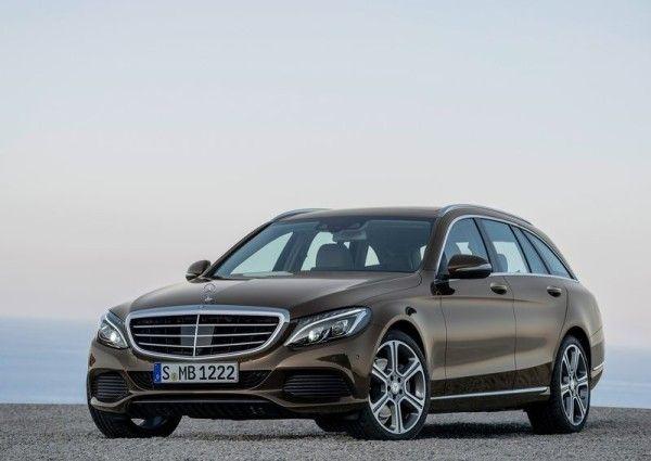 2015 Mercedes Benz C Class Estate Front 600x425 2015 Mercedes   Benz C   Class Estate Review Details