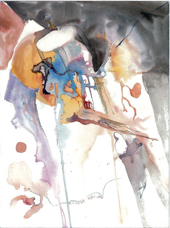 filip kurzewski; watercolor; 35x50cm / 13x19,5inch