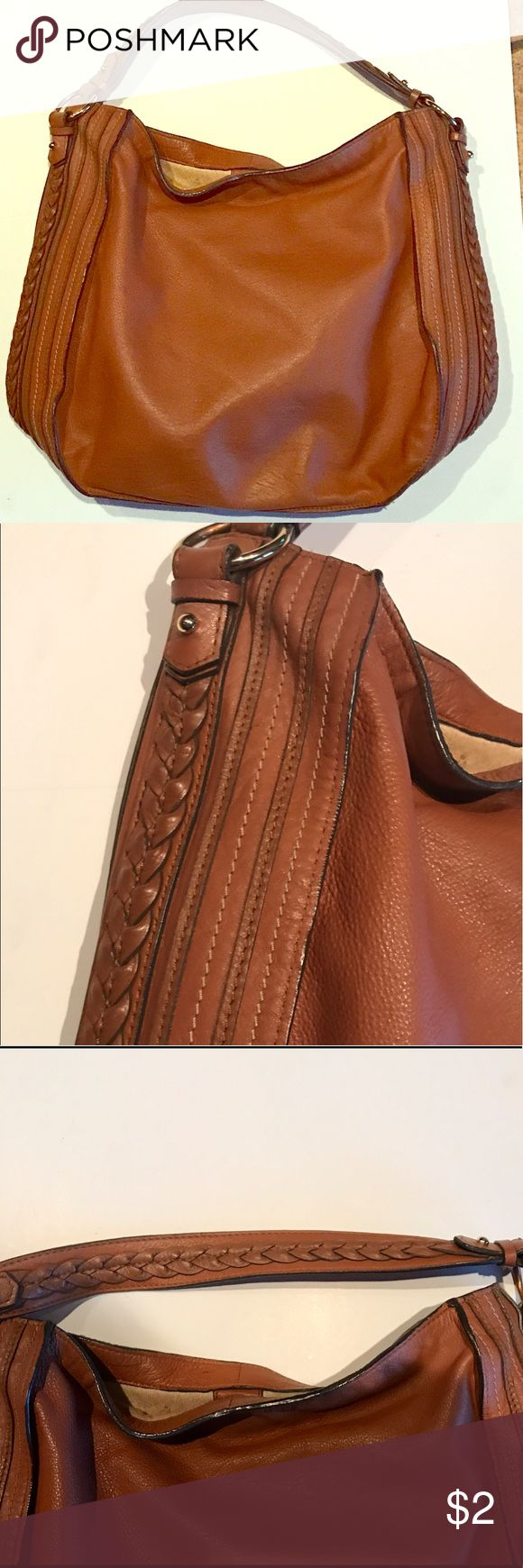 Gorgeous Zara Shoulder Bag With Much Detail ! Gorgeous Zara Woman Camel Shoulder Bag . Braided Handles Gold Detail Snap Closure One Inside Pocket . Inside has Wear . Outside is in Perfect Condition. Excellent Quality !! The bag is beautiful !! Great Buy !! Zara Bags Shoulder Bags