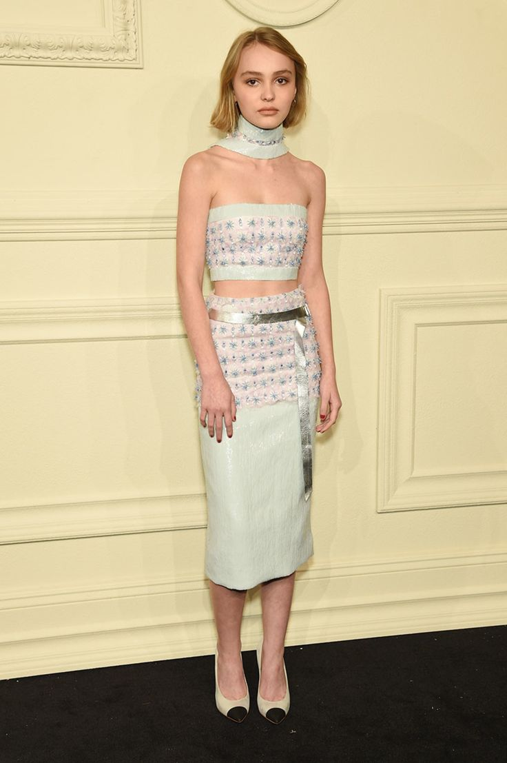 Johnny Depp's 15-Year-Old Daughter Killed It In Chanel Lily-Rose Depp| NYLON MAGAZINE