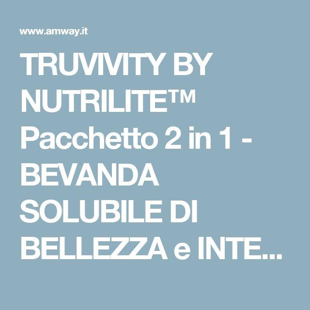 TRUVIVITY BY NUTRILITE™ Pacchetto 2 in 1 - BEVANDA SOLUBILE DI BELLEZZA e INTEGRATORE DI BELLEZZA. | Amway