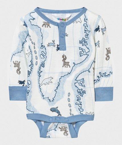 Joha Baby Body Blå Multi Arctic Zone Blue Multi