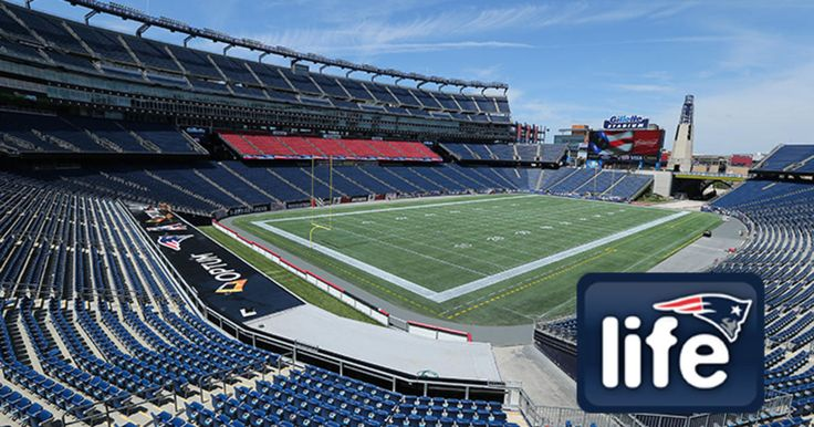 Football season may be over, but there is still football happening at Gillette Stadium this weekend.