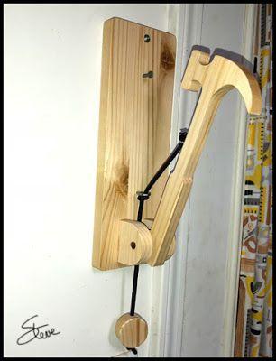 Workshop Hammer Türklopfer für Ihre Besucher, um Sie wissen zu lassen, dass sie da sind. T