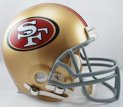 San Francisco 49ers Authentic Riddell Helmet-Full Size VSR4 Helmet