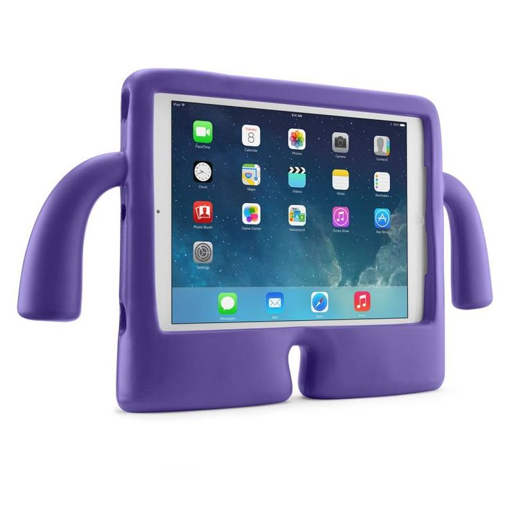 iGuy for iPad Air - Meet iGuy; the free-standing foam iPad Air case. Every bit as protective as he is cool, iGuy is the perfect iPad Air case for kids and grownups alike... #iGuy #iPad #case #kids #fun
