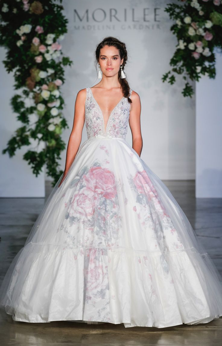 Cute High drama Morilee by Madeline Gardner The key wedding dress trends from New
