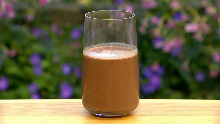 Mørk chokolade drink | Mad