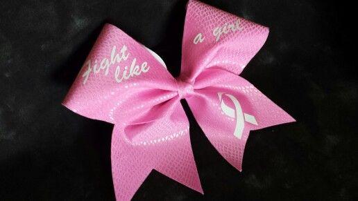 For breast cancer awareness https://www.facebook.com/headoverheelscheerbows