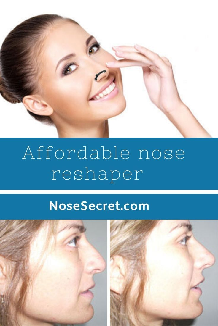 Get Smaller and Thinner Nose at HOME Lift nose tip Slim