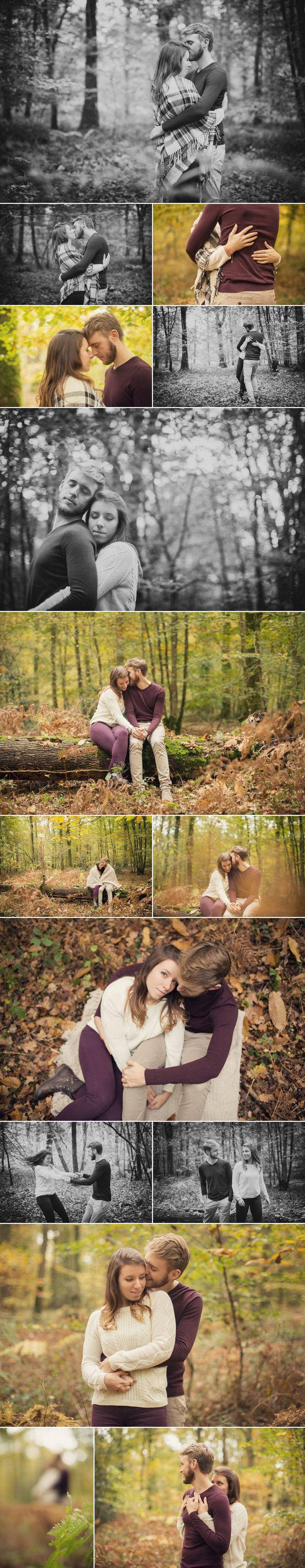 Séance couple en forêt {Olivia and Aurélien}