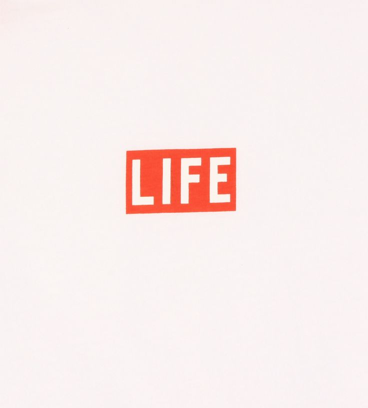 Altru Apparel LIFE Logo Box Pocket Tee (White)