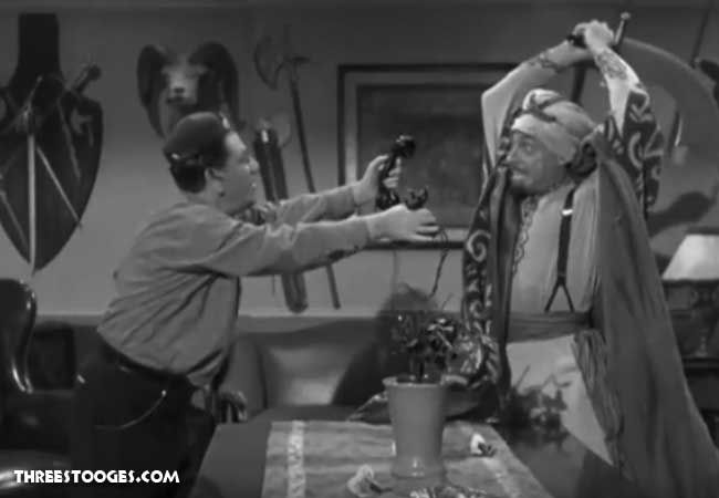 The Three Stooges Three Arabian Nuts was released on January 4, 1951. Click through to watch video.