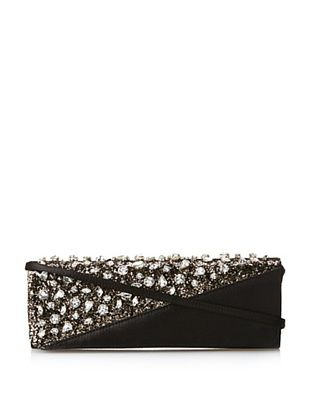 50% OFF Nina Women's Mercilla Clutch, Black/Gold
