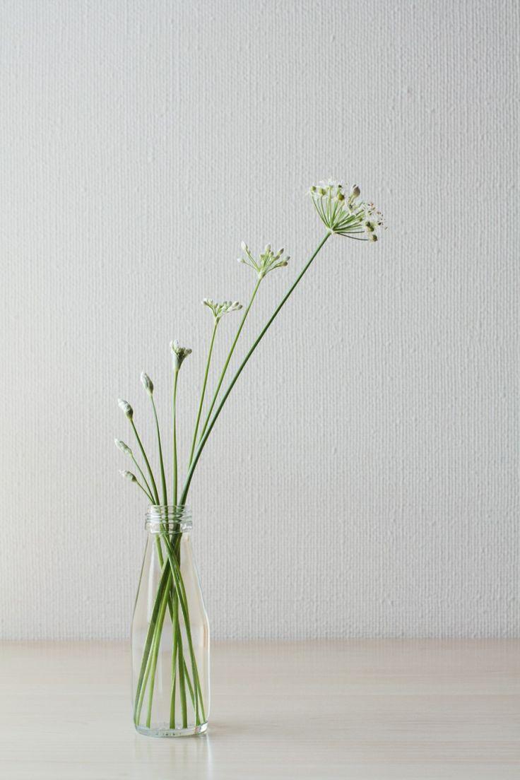Flower Arrangement  Simple & Elegant #wabisabi