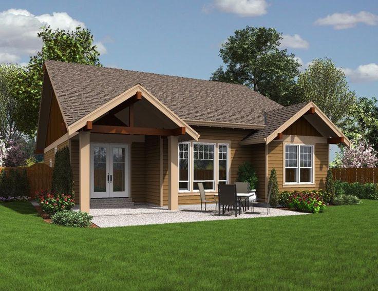Gambar Desain Rumah Sederhana Ala Pedesaan v3