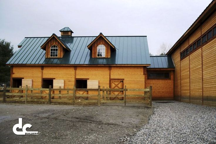 Indoor Riding Arena With Horse Barn In China Maine Dc