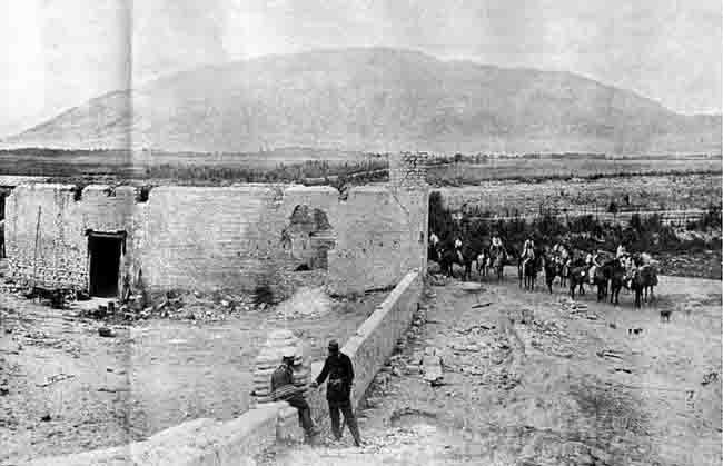 despues de la batalla de San Juan en enero de 1881