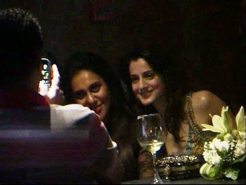 Ameesha Patel seen chilling and boozing - LEAKED VIDEO.
