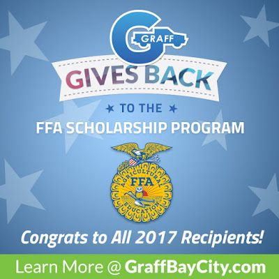 Graff Gives Back to the FFA Scholarship Program
