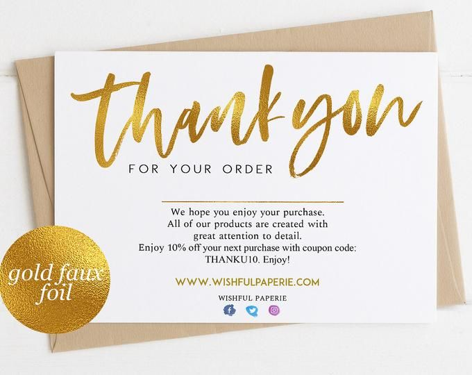 Review Cards Feedback Cards Packaging Inserts For Etsy Etsy Business Thank You Thank You Cards Thank You Card Template