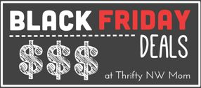 Plan out your holiday shopping/deals: Black Friday Deals online and in the NW.