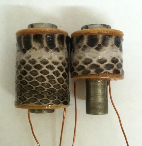 10 layer 32mm Snakeskin Half Stilted hand wound tattoo machine coils
