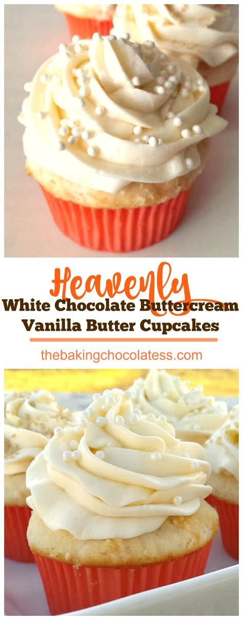 Be prepared to be dazzled! Rich, Vanilla Butter Cake meets decadent White Chocolate Buttercream Frosting! Heavenly!